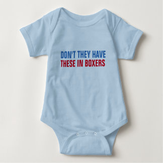 don't they have these in boxers funny boxer short baby bodysuit