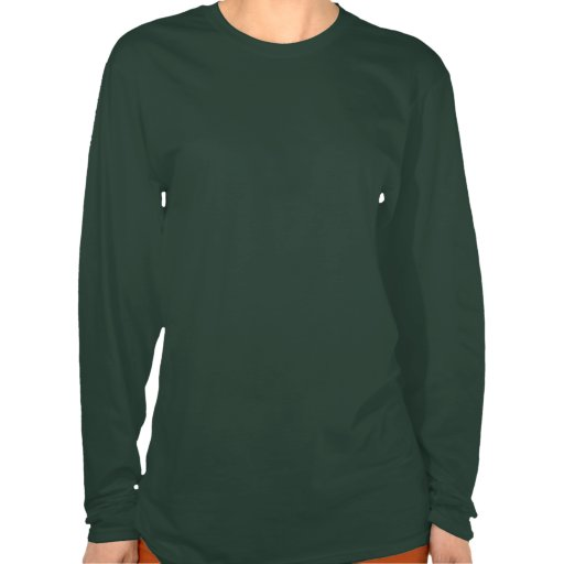 Don't throw in the trowel! Ladies' long sleeve T Tee Shirts
