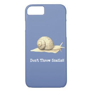 Don't Throw Snails iPhone 8/7 Case