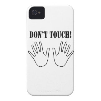 Don't touch iPhone 4 covers