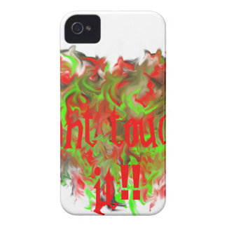 Dont touch it if you want Case-Mate iPhone 4 cases