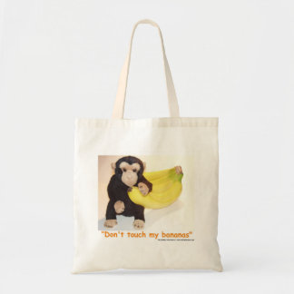 Don't Touch My Bananas Pet Monkey Lunch Bag