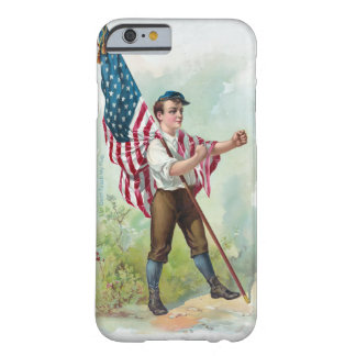 Don't Touch My Flag Barely There iPhone 6 Case
