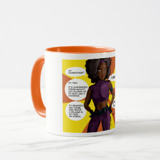 Don't Touch My 'Fro Mug