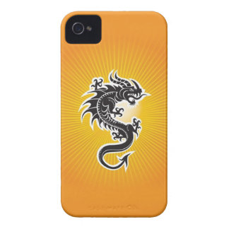 Don't Touch the Dragon iPhone 4 Case