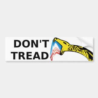 Don't Tread Bumper Sticker