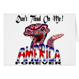 Dont Tread Forever Greeting Card