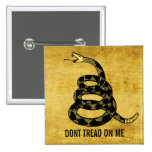 Don't Tread Me Customizable Button