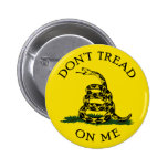 Dont Tread On Me 2 Inch Round Button