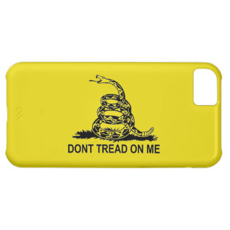 DON'T TREAD ON ME 2ND AMENDMENT UNITED STATES iPhone 5C COVERS