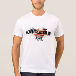 Don't Tread on Me American Flag Shirt Snake AA
