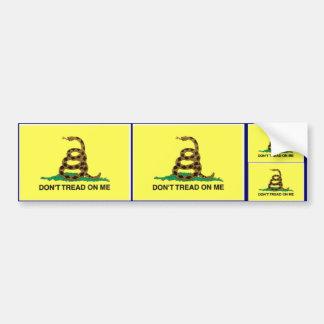 Don't Tread On Me! Bumper Sticker