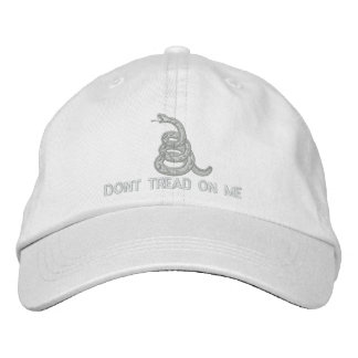Don't Tread On Me Embroidered Hat