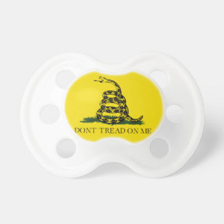 Don't Tread on Me Gadsden American Flag Pacifiers