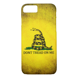 Dont Tread On Me Gadsden Flag - Distressed iPhone 7 Case