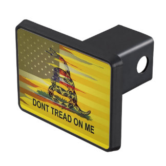 Don't Tread On Me Gadsden Flag Hitch Cover