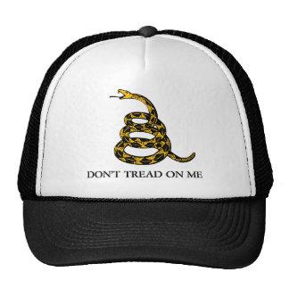 don't tread on me - gadsden flag libertarian hat