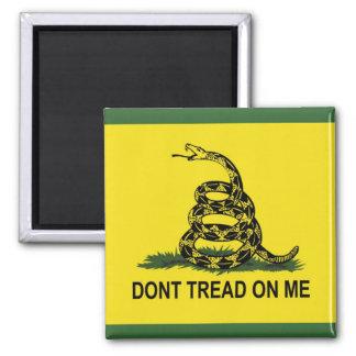 Dont Tread On Me Gadsden Flag Magnet