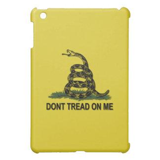 Dont Tread On Me Gadsden Flag Tea Party Symbol iPad Mini Cover