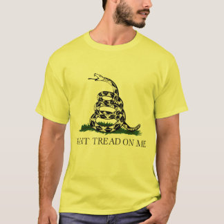 Don't Tread on Me, Gadsden flag tea party T-Shirt