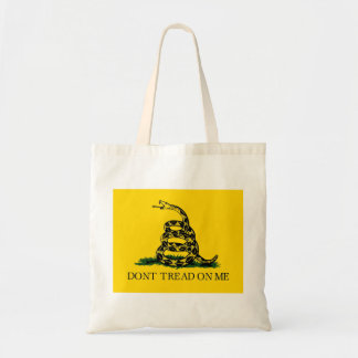 Don't Tread On Me - Gadsden Flag Tote Bag