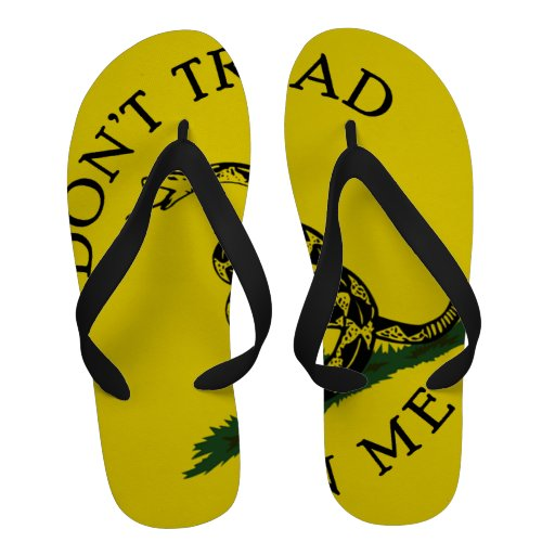Don't Tread on Me - Gadsden Snake Sandals