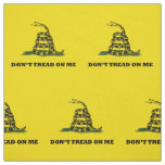 Don't Tread On Me Gadsden Yellow Flag Fabric