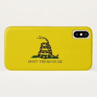 Don't Tread On Me iPhone X Case