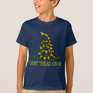 Don't Tread On Me Kids Dark T-shirt