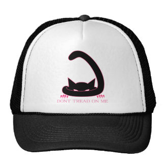 DONT TREAD ON ME Kitty Trucker Hat