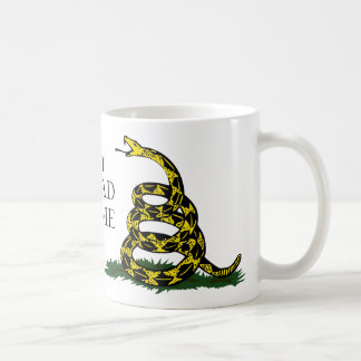 Dont Tread On Me Mug