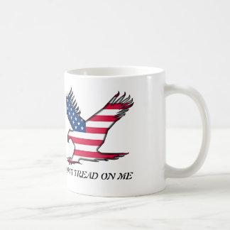 Don't Tread On Me Basic White Mug