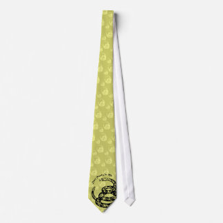 Don't Tread On Me Multi image Tie - subdued OD