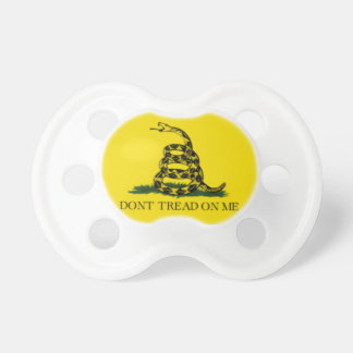 Don't tread on me pacifier