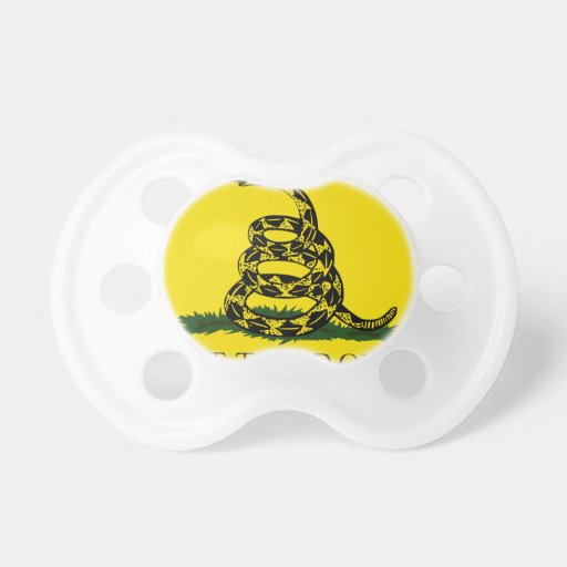 Don't Tread On Me Baby Pacifiers