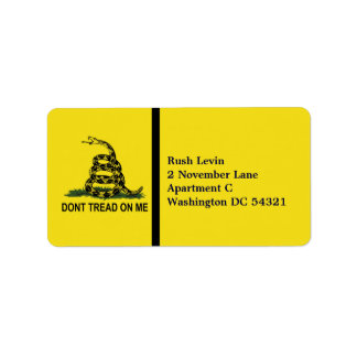 Dont Tread On Me Personalized
