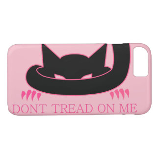 Don't Tread on Me Pink Kitty iPhone 8/7 Case
