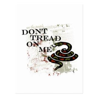 Dont Tread on Me Postcard