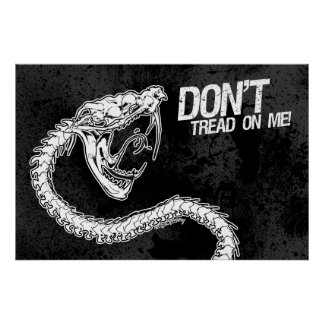 Don't! (Tread on Me) Poster
