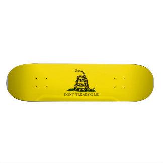 Dont Tread on Me Skateboard