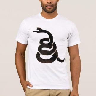 "Don't Tread On Me ""Stencil"" Design T-Shirt"