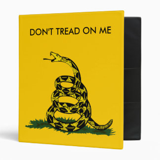 Don't Tread on Me, Will Bratton Vinyl Binder