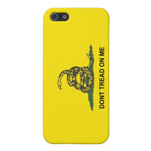 Don't Tread on My iPhone iPhone 5 Cover