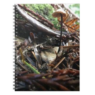 Don't Trip Mushroom Notebooks