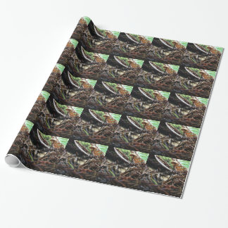 Don't Trip Mushroom Wrapping Paper