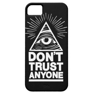 Don't Trust Anyone iPhone 5 Cover