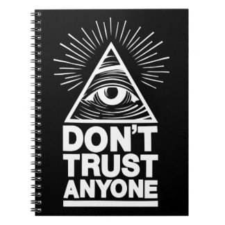 Don't Trust Anyone Notebook
