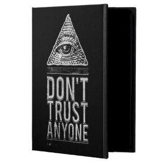 Don't trust anyone powis iPad air 2 case
