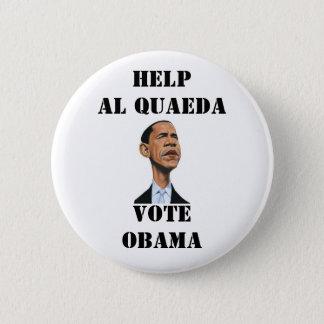 DON'T VOTE FOR OBAMA 2 INCH ROUND BUTTON