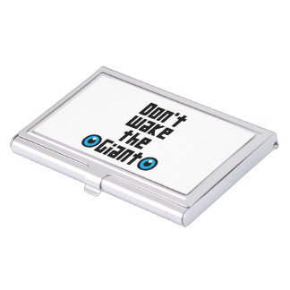 Don't wake the Giant Business Card Holder
